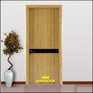 Cửa gỗ công nghiệp MDF phủ veneer KD.P1R