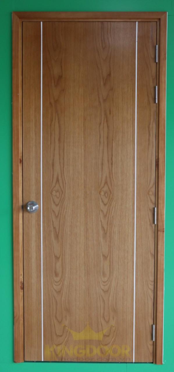 Mẫu cửa gỗ công nghiệp MDF Veneer chạy chỉ.