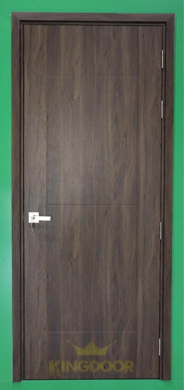 Mẫu cửa nhựa Composite phủ da màu B14.