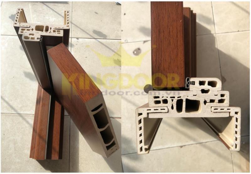Góc mẫu cửa nhựa Composite tại Tây Ninh